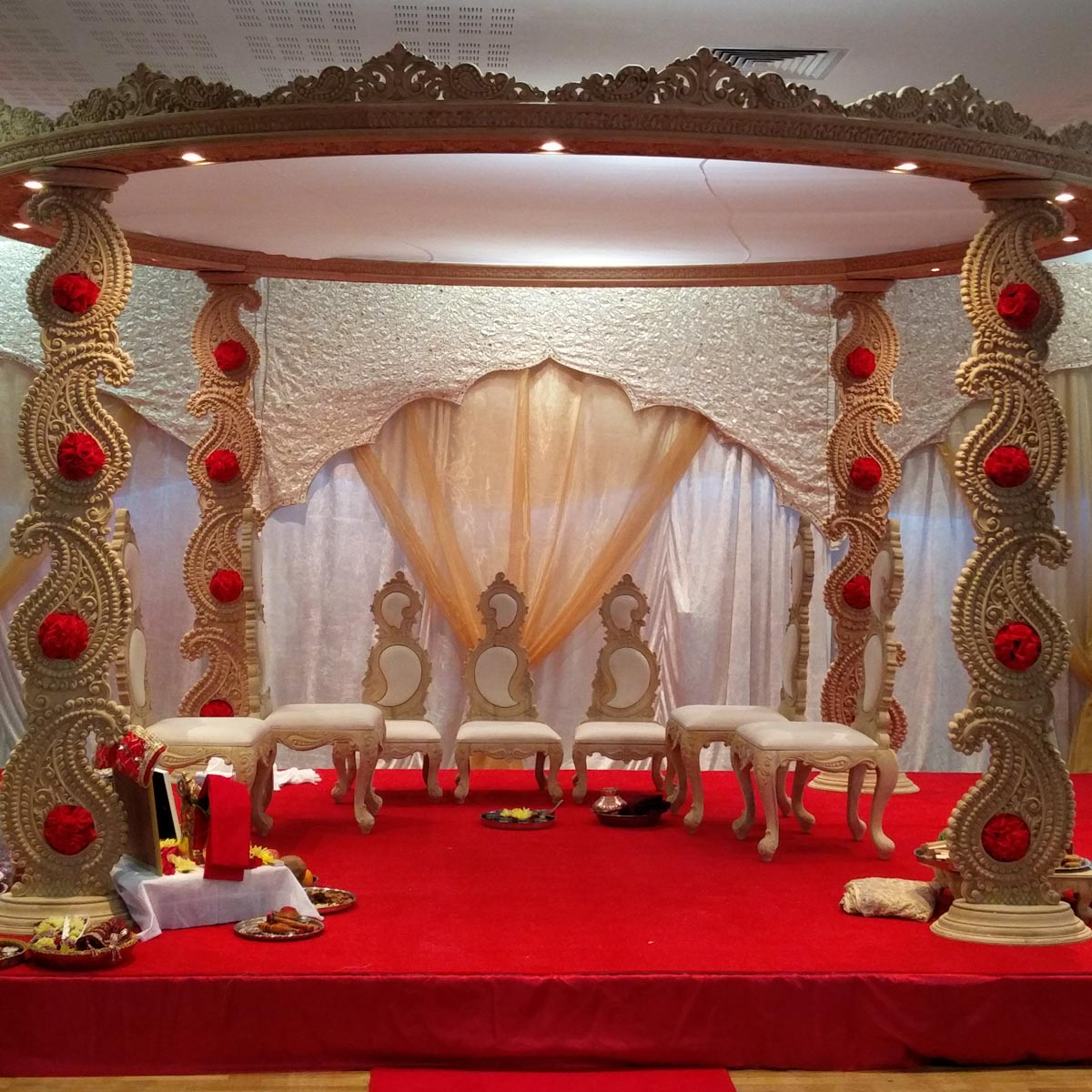 Pushpanjali Beautiful Wedding And Reception Decoration In South